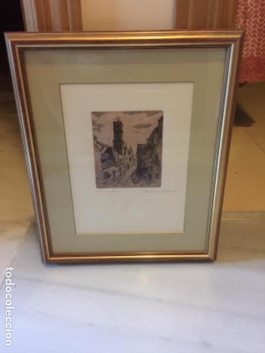GRABADO SOMERA (Arte - Grabados - Contemporáneos siglo XX)