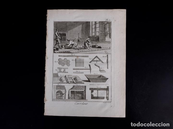 SOLADOR. ENCICLOPEDIA DIDEROT DE LAS CIENCIAS, LAS ARTES Y LOS OFICIOS 1783 (Arte - Grabados - Antiguos hasta el siglo XVIII)