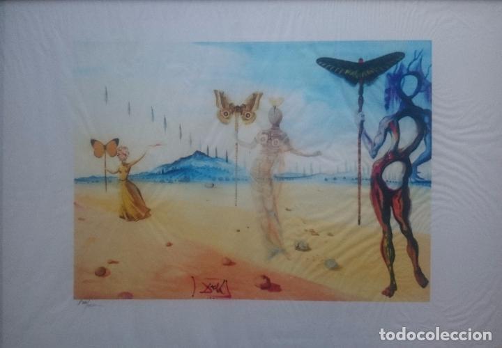 Arte: DALI - MUJERES Y MARIPOSAS - Foto 6 - 204003661