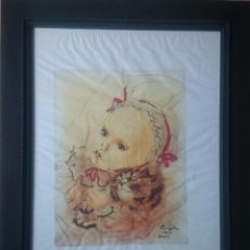 Arte: FUJITA - INFANTE 1950. Lote 132495898