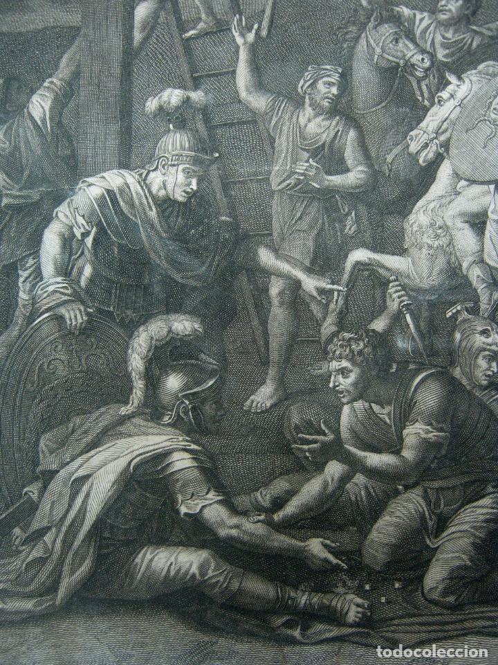 Arte: 60 CM - Impresionante Grabado Florencia s. XVI XVII - Crucifixion Nuestro Señor Jesucristo - Foto 9 - 133037078