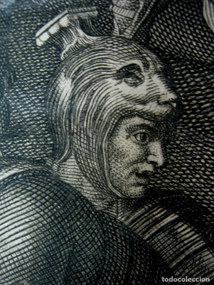 Arte: 60 CM - Impresionante Grabado Florencia s. XVI XVII - Crucifixion Nuestro Señor Jesucristo - Foto 11 - 133037078