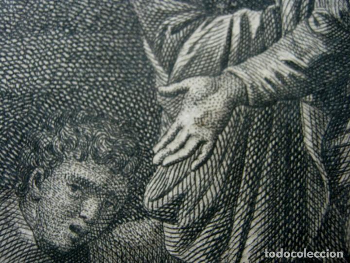 Arte: 60 CM - Impresionante Grabado Florencia s. XVI XVII - Crucifixion Nuestro Señor Jesucristo - Foto 12 - 133037078