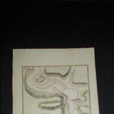Arte: GRABADO DE PASAJES. PLAN DU PORT DU PASSAGE.. Lote 133332938