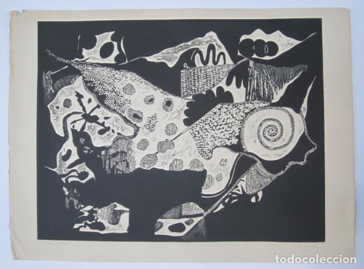 JUAN JOSÉ TORRALBA (1937), CARACOL, GRABADO, 1968, TIRAJE 7/75. 77X57CM (Arte - Grabados - Contemporáneos siglo XX)