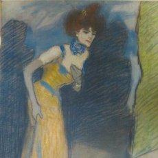 Arte: EL FINAL DEL NÚMERO SEGÚN PABLO PICASSO (1901). Lote 133839054