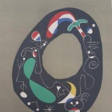 Arte: JOAN MIRÓ GRABADO ORIGINAL FIRMADO A LAPIZ,E.A.,COMPOSICION 1, 29.5X20 CMS. Lote 133904954