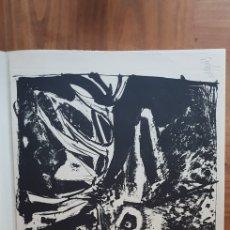 Arte: ÁLVARO DELGADO COLECCION DE ARTISTAS GRABADORES ESPAÑOLES FEBRERO MCMLX BOJ. Lote 134368086