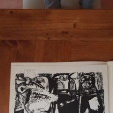 Arte: CLAVO COLECCION DE ARTISTAS GRABADORES ESPAÑOKES SEPTIEMBRE MCMLX BOJ. Lote 134368753