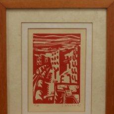 Arte: MILLAN SAÑUDO(SALAMANCA) PRUEBA DE AUTOR FIRMADA Y FECHADA. 1992. Lote 134415206