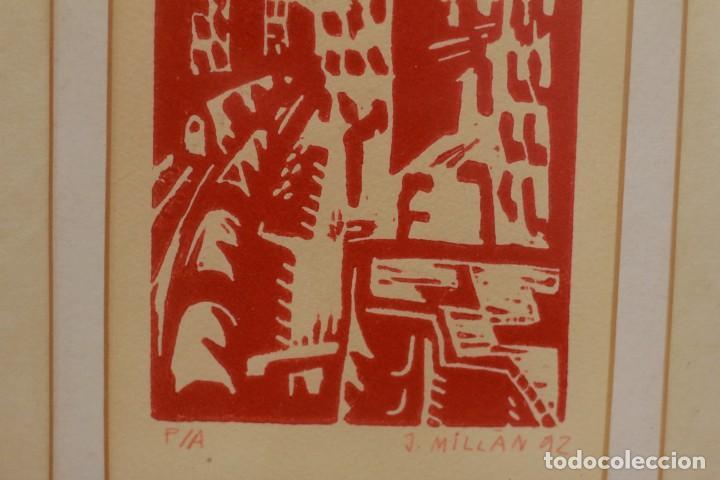 Arte: MILLAN SAÑUDO(SALAMANCA) PRUEBA DE AUTOR FIRMADA Y FECHADA. 1992 - Foto 5 - 134415206
