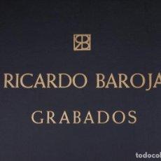 Arte: RICARDO BAROJA NESSI (1871-1953). CARPETA Nº 141 CON 51 REPRODUCCIONES DE SUS GRABADOS. Lote 134588578