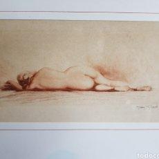 Arte: GRABADO DE JEAN AUGUSTE VIBORD. Lote 134802131