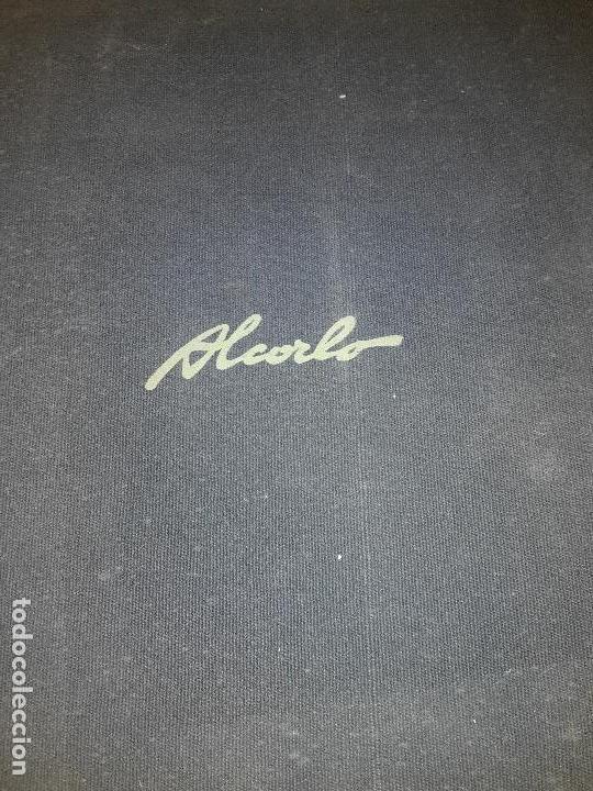 LIBRO AUTOR MANUEL ALCORLO, 19 AGUAFUERTES (Arte - Grabados - Contemporáneos siglo XX)
