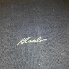 Arte: LIBRO AUTOR MANUEL ALCORLO, 19 AGUAFUERTES. Lote 135161174