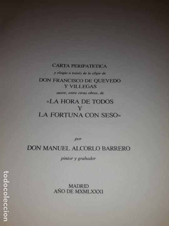 Arte: Libro autor Manuel Alcorlo, 19 aguafuertes - Foto 2 - 135161174