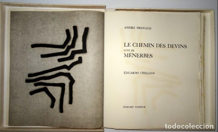 LES CHEMIN DES DEVINS / MENERBÉS - EDUARDO CHILLIDA - ANDRÉ FRENAUD (Arte - Grabados - Contemporáneos siglo XX)