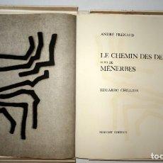 Arte: LES CHEMIN DES DEVINS / MENERBÉS - EDUARDO CHILLIDA - ANDRÉ FRENAUD - MAEGHT. Lote 135180954