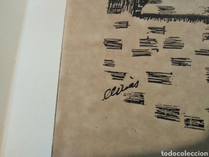 Arte: LOTE DE 9 GRABADOS BARCELONA SIGLO XIX .ALGUNOS FIRMADOS Y COLOREADOS A MANO - Foto 13 - 135713459