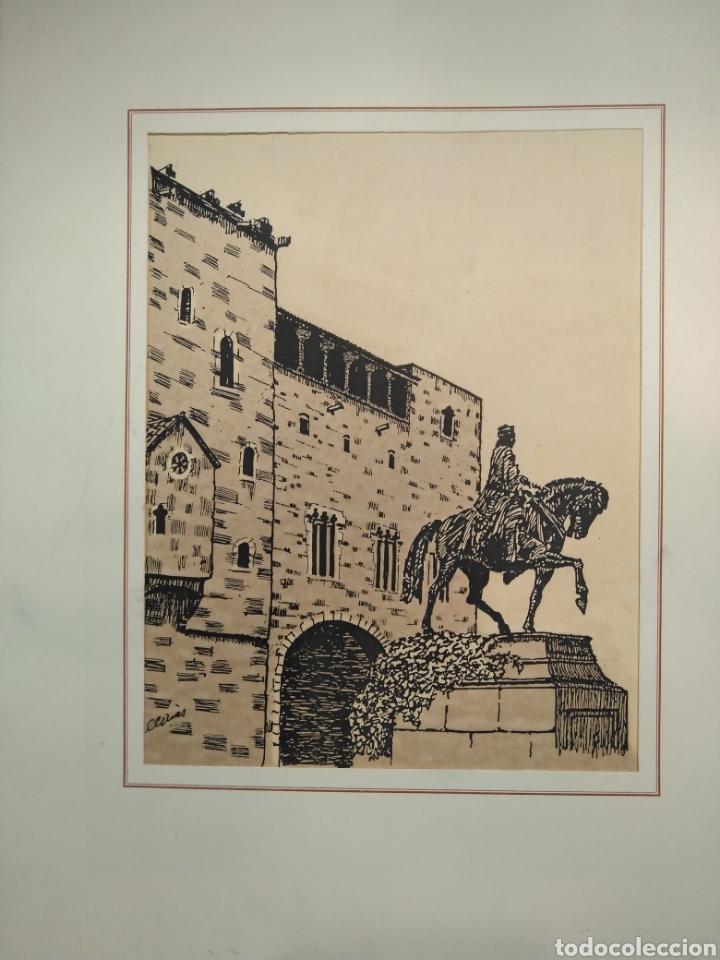 Arte: LOTE DE 9 GRABADOS BARCELONA SIGLO XIX .ALGUNOS FIRMADOS Y COLOREADOS A MANO - Foto 28 - 135713459