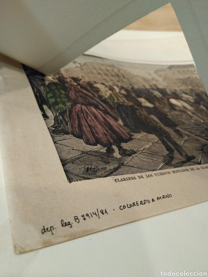 Arte: LOTE DE 9 GRABADOS BARCELONA SIGLO XIX .ALGUNOS FIRMADOS Y COLOREADOS A MANO - Foto 33 - 135713459