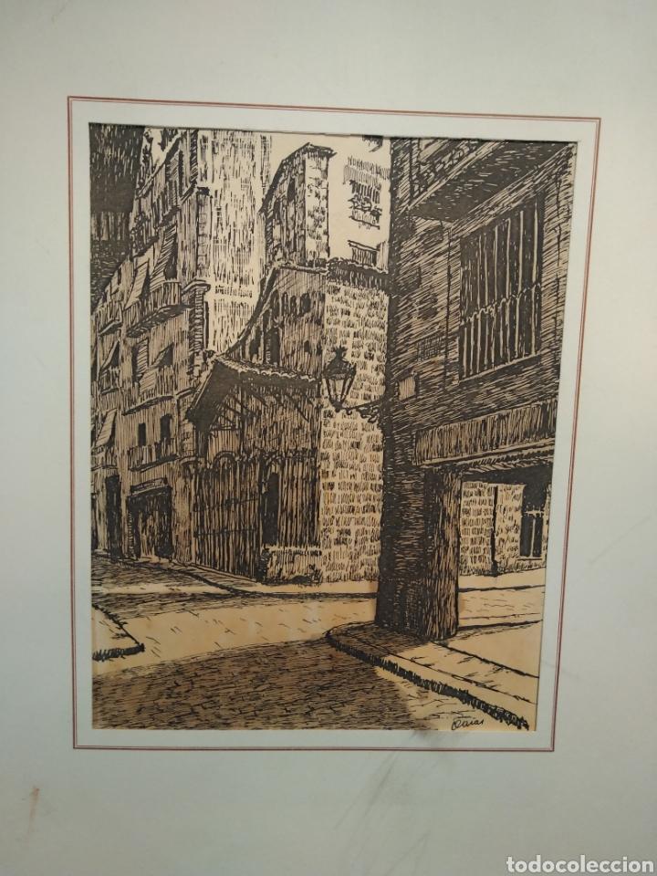 Arte: LOTE DE 9 GRABADOS BARCELONA SIGLO XIX .ALGUNOS FIRMADOS Y COLOREADOS A MANO - Foto 34 - 135713459