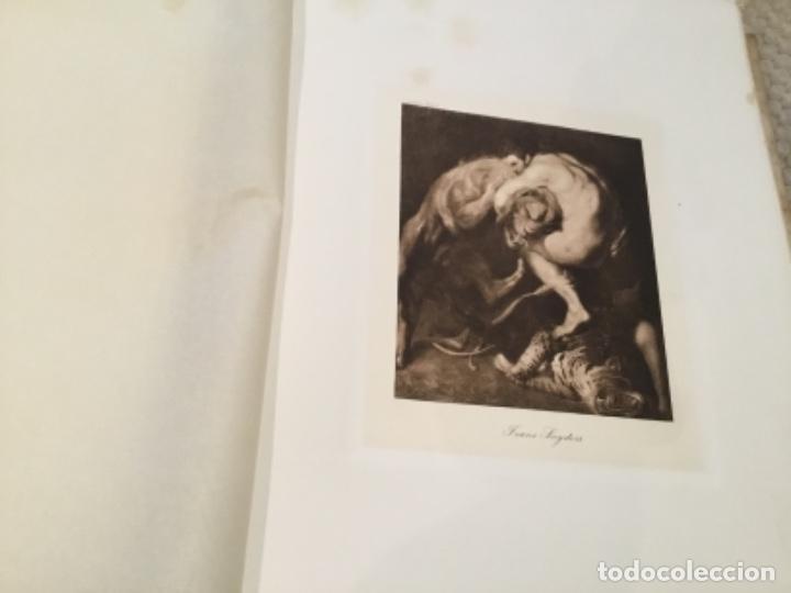 Arte: Álbum antiguo 1915 con heliograbados de J. Lacoste Museo Del Prado - Foto 3 - 135793426