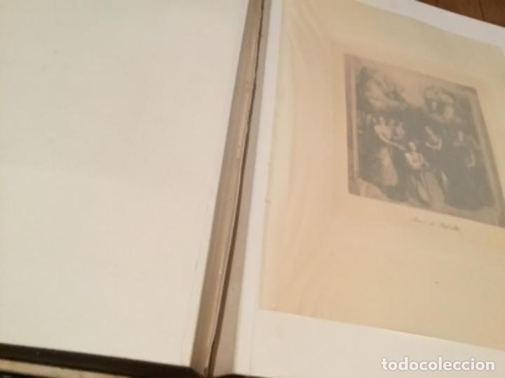 Arte: Álbum antiguo 1915 con heliograbados de J. Lacoste Museo Del Prado - Foto 21 - 135793426