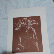 Arte: 6 GRABADOS DEL PINTOR JUAN ANTONIO ALDA.1974. Lote 136203590