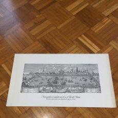 Arte: GRABADO JOAN BAPTISTA FRANCIA 1762. Lote 136650862