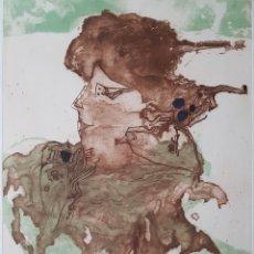 Arte: MODEST CUIXART.PRUEBA DE ARTISTA.AGUAFUERTE CON COLLAGE Y AGUATINTA.FIRMADO.CERTIFICADO.. Lote 132244519