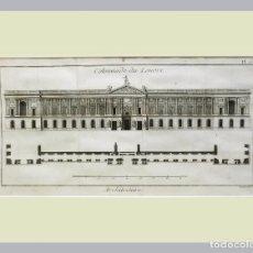 Arte: 1779 ARQUITECTURA - DIDEROT - GRABADO CON PASSEPARTOUT DOBLE 8 - GRAN TAMAÑO. Lote 136806174