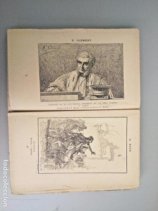 Arte: E BERNARD. 1ª FERIA DE PINTURA Y ESCULTURA DE PARIS 1882. CON 335 GRABADOS DE PRINCIPALES PINTORES - Foto 2 - 136832994