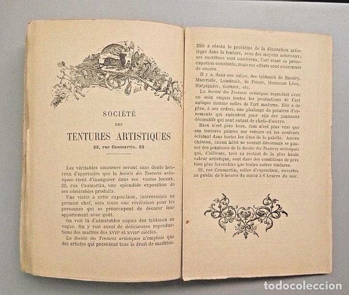 Arte: E BERNARD. 1ª FERIA DE PINTURA Y ESCULTURA DE PARIS 1882. CON 335 GRABADOS DE PRINCIPALES PINTORES - Foto 6 - 136832994