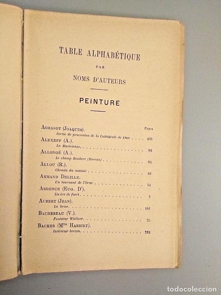 Arte: E BERNARD. 1ª FERIA DE PINTURA Y ESCULTURA DE PARIS 1882. CON 335 GRABADOS DE PRINCIPALES PINTORES - Foto 7 - 136832994