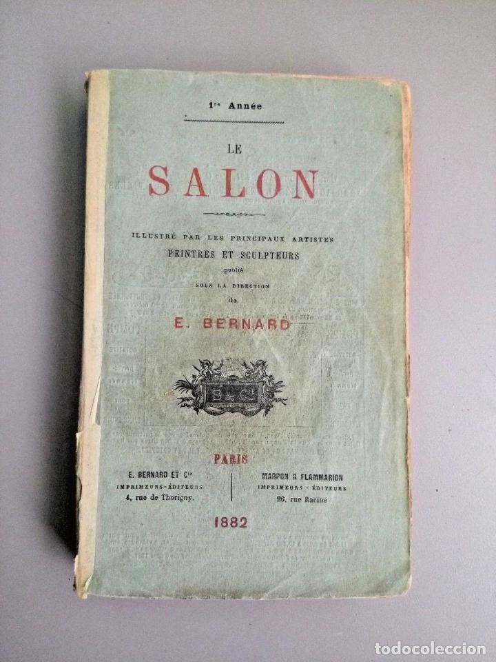 Arte: E BERNARD. 1ª FERIA DE PINTURA Y ESCULTURA DE PARIS 1882. CON 335 GRABADOS DE PRINCIPALES PINTORES - Foto 8 - 136832994