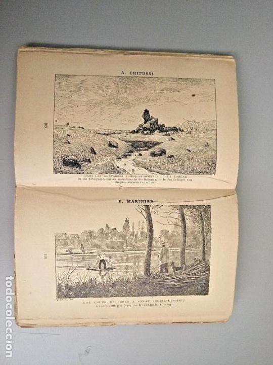 E BERNARD. 1ª FERIA DE PINTURA Y ESCULTURA DE PARIS 1882. CON 335 GRABADOS DE PRINCIPALES PINTORES (Arte - Grabados - Modernos siglo XIX)