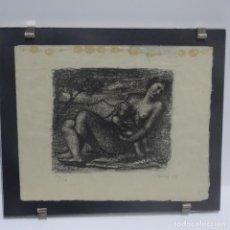 Arte: GRABADO O AGUAFUERTE DE PERE PRUNA OCERANS 1929.40/50.. Lote 137253198