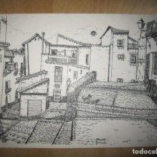 Arte: GRABADO-ILUSTRACIÓN ALBAICÍN (ALBAYZÍN. GRANADA). Lote 137533118