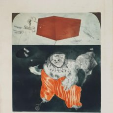 Arte: ABSTRACTO. GRABADO AL AGUAFUERTE. DEDICADO. 29/75. (...) JOAN. 1976-1979. . Lote 137600022