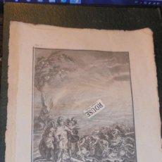 Arte: ANTIGUO GRABADO S. XVIII - VICTOIRE D'ANNIBAL Á LA BATAILLE DE CANNES 1764 . Lote 137603962