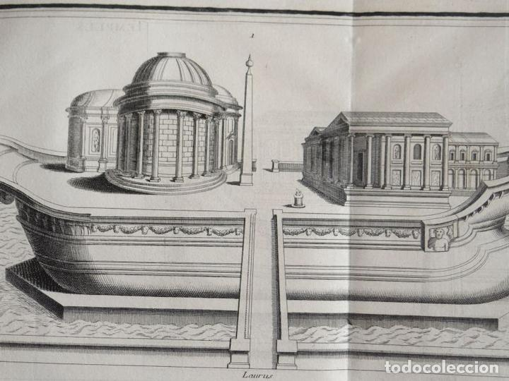 Arte: Distintos tipos de antigos templos clásicos, hacia 1722. B. Montfaucon - Foto 4 - 137769270