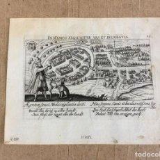 Arte: VISTA DE ITZEHOE (ALEMANIA, EUROPA), HACIA 1625. DANIEL MEISNER. Lote 137814406