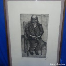 Arte: GRAN GRABADO A LA PUNTA SECA DE JOSEP BADIA I SABATER.6/25.. Lote 137936514