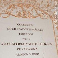 Arte: COLECCION DE GRABADOS ESPAÑOLES.. Lote 137994561