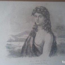 Arte: GRABADO ORIGINAL DEL AÑO 1837. Lote 138041170