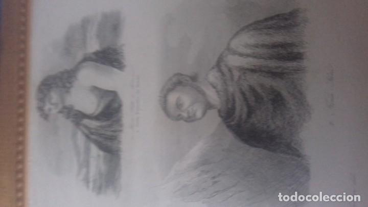 Arte: Grabado original del año 1837 - Foto 3 - 138041170