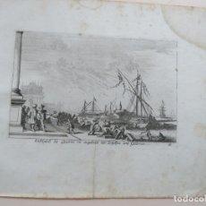 Arte: BONITO GRABADO DE MELCHIOR KÜSEL (1626-1683) SOBRE DIBUJO DE JOHANN WILHELM BAUER (1607-1640). Lote 138204246