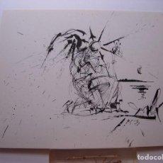 Art: DALI / EL ANGEL DE PORT LLIGAT / DIBUJO DE SALVADOR DALÍ. Lote 223371291