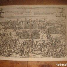 Arte: ESPLÉNDIDO SITIO Y TOMA DE TOURNAY, TERCIOS, ROMA, ORIGINAL , 1647,GRAN ESTADO. Lote 138088362